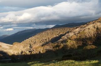 Storm over Thredbo, NSW