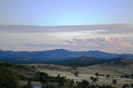 A view over south Canberra