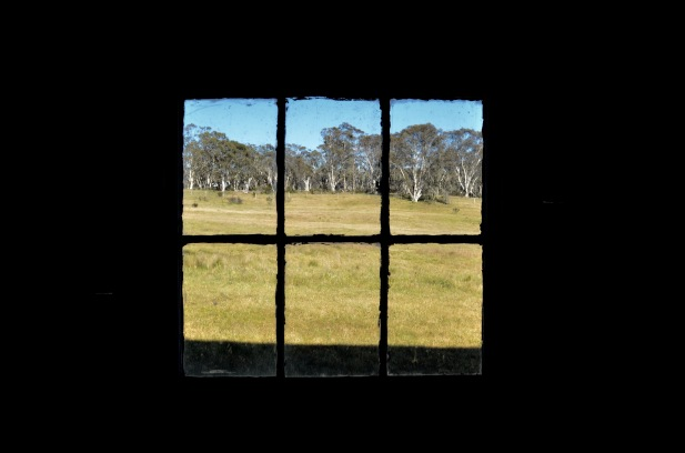 A view from the past. Old Homestead in Kosciuszko NP