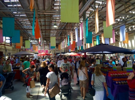 Old Bus Depot Markets, Canberra